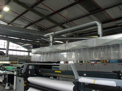 Fume Extraction Canopy & Industrial Extraction Canopies u0026 Hoods - Design Manufacture ...