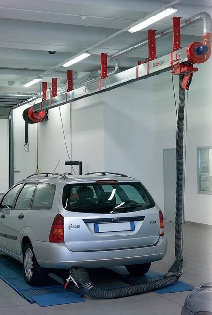 Vehicle Exhaust Extraction Equipment Systems Design
