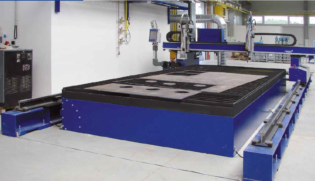 Laser Cutting Fume and Dust Extraction System